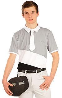 Polo tričko pánske závodné. J1034 LITEX