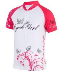 Dievčenský cyklistický dres CYKLO CYCLOGIRL Sensor