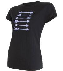 Dámske funkčné tričko MERINO ACTIVE PT ARROWS Sensor