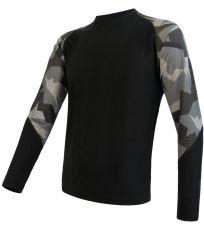 Pánske termo tričko dlhý rukáv MERINO IMPRESS Sensor
