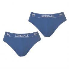 Pánske slipy 2 kusy Brief Lonsdale