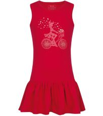 Dievčenské šaty BRONA LOAP