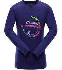 Detské tričko s dlhým rukávom TEOFILO 7 ALPINE PRO
