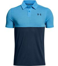 Dětské funkční polo triko Threadborne Blocked Polo Under Armour
