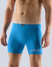 Pánske boxerky s dlhšou nohavičkou 74113-DBMMxB GINA