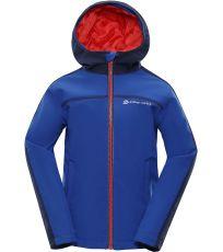 Dětská zateplená softshellová bunda NOOTKO 2 INS. ALPINE PRO