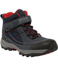 Chlapecká kotníková outdoorová obuv TRAILSPACE MID JR REGATTA