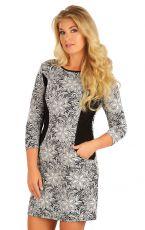 Šaty dámské s 3/4 rukávem. 55034999 LITEX