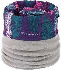Multifunkční šátek s fleecem FSW-839 Finmark