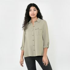 Dámská košile Long Sleeve Shirt Ladies FIRETRAP
