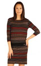 Šaty dámské s 3/4 rukávem. 51018999 LITEX