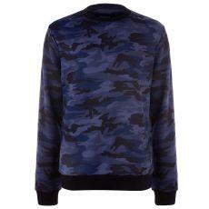 Pánsky sveter Camo Sweatshirt Mens FIRETRAP