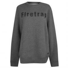 Pánsky sveter Graphic Crew Neck Sweatshirt Men's FIRETRAP