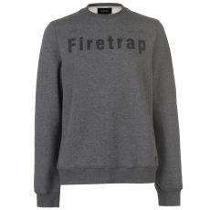 Pánský svetr Graphic Crew Sweater Mens FIRETRAP