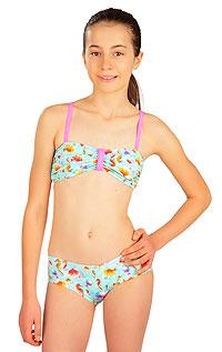 Dievčenské plavky nohavičky bokové 6B409 LITEX