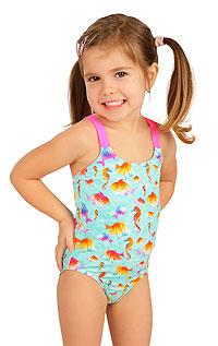 Jednodielne dievčenské plavky 6B410 LITEX