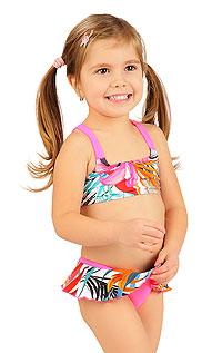 Dievčenské plavky nohavičky bokové 6B417 LITEX