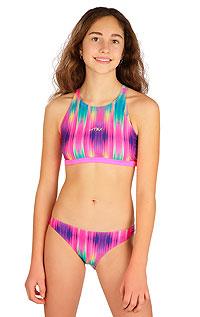 Dievčenské plavky športový top 6B428 LITEX