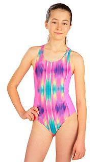 Jednodielne športové dievčenské plavky 6B430 LITEX