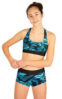 Dievčenské plavky nohavičky bokové s nohavičkou 6B439 LITEX
