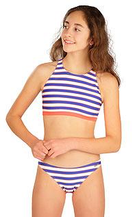 Dievčenské plavky športový top 6B464 LITEX