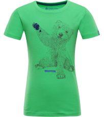 Detské tričko IVARO 2 ALPINE PRO
