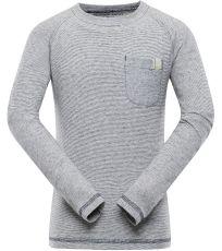 Detské tričko s dlhým rukávom MAUDO ALPINE PRO