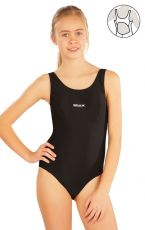 Dievčenské jednodielne športové plavky. 57593 LITEX