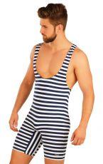 Pánské retro plavky s kšandami. 57664 LITEX