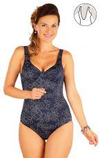 Jednodielne plavky s kosticou 57327 LITEX