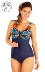 Jednodílné plavky s kosticemi 57356 LITEX