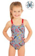 Jednodielne dievčenské plavky 57532 LITEX