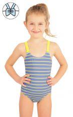 Jednodielne dievčenské plavky 57542 LITEX