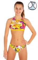 Dievčenské plavky športový top 57552 LITEX