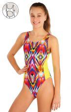 Dievčenské jednodielne športové plavky 57569 LITEX