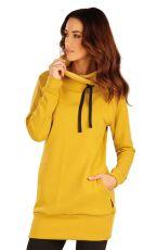 Mikinové šaty s dlhým rukávom 60102108 LITEX