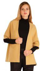 Fleecový cardigan s netopýřím rukávem 60495411 LITEX