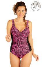 Jednodílné plavky s kosticemi 52063 LITEX
