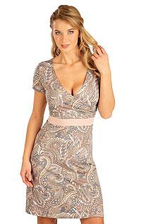 Šaty dámske s kratkym rukávom 5B136 LITEX