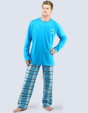 Pánské pyžamo dlouhé 79029-MGADCM GINA