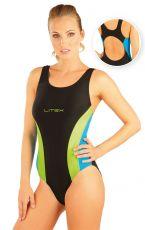 Jednodílné sportovní plavky. 88370 LITEX