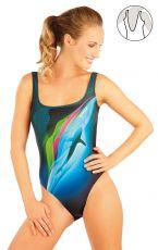 Jednodílné sportovní plavky. 88396 LITEX