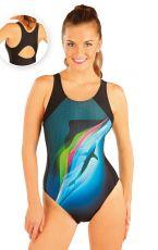 Jednodílné sportovní plavky. 88397 LITEX