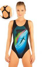 Jednodílné sportovní plavky. 88398 LITEX