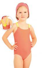 Jednodílné dívčí plavky. 88493 LITEX