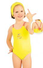 Jednodílné dívčí plavky. 88494 LITEX