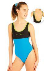 Dívčí jednodílné sportovní plavky. 88503 LITEX