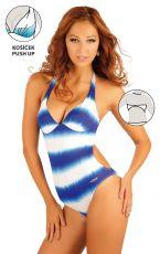 Jednodílné plavky s košíčky push-up. 93082 LITEX