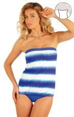Plavky top dámský s vyjímat. výztuží. 93083 LITEX