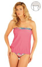 Plavky top dámský s vyjímatel. výztuží. 93099 LITEX